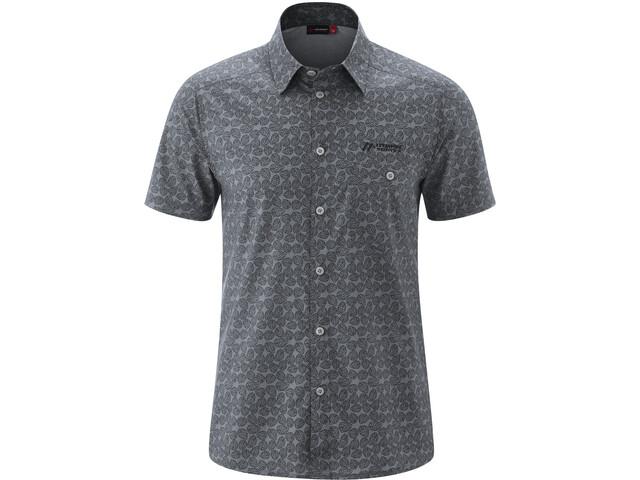 Maier Sports Lorcan T-shirt Heren, grey allover